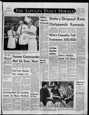 Primary view of The Sapulpa Daily Herald (Sapulpa, Okla.), Vol. 56, No. 77, Ed. 1 Friday, November 28, 1969