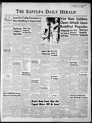 Primary view of The Sapulpa Daily Herald (Sapulpa, Okla.), Vol. 48, No. 292, Ed. 1 Wednesday, August 21, 1963