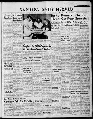 Primary view of Sapulpa Daily Herald (Sapulpa, Okla.), Vol. 47, No. 115, Ed. 1 Thursday, January 25, 1962