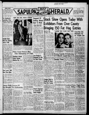 Primary view of Sapulpa Daily Herald (Sapulpa, Okla.), Vol. 36, No. 156, Ed. 1 Monday, March 6, 1950