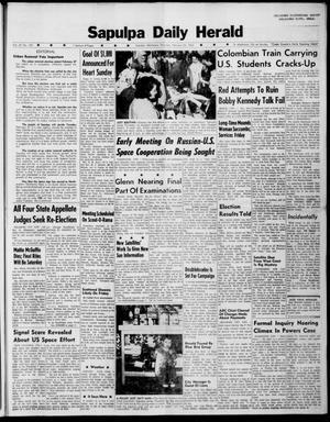 Primary view of Sapulpa Daily Herald (Sapulpa, Okla.), Vol. 47, No. 139, Ed. 1 Thursday, February 22, 1962