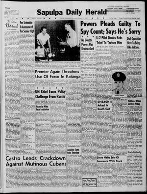 Primary view of Sapulpa Daily Herald (Sapulpa, Okla.), Vol. 45, No. 297, Ed. 1 Wednesday, August 17, 1960