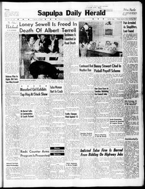 Primary view of Sapulpa Daily Herald (Sapulpa, Okla.), Vol. 45, No. 166, Ed. 1 Wednesday, March 16, 1960
