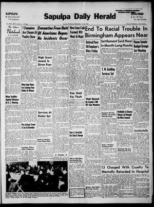Primary view of Sapulpa Daily Herald (Sapulpa, Okla.), Vol. 48, No. 202, Ed. 1 Wednesday, May 8, 1963
