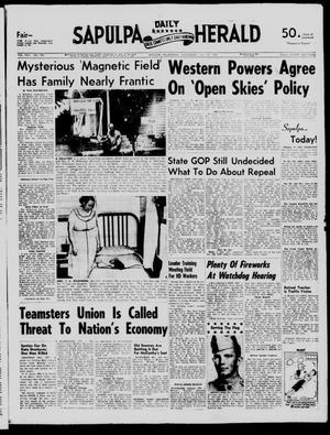 Primary view of Sapulpa Daily Herald (Sapulpa, Okla.), Vol. 42, No. 280, Ed. 1 Wednesday, July 31, 1957