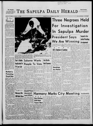 Primary view of The Sapulpa Daily Herald (Sapulpa, Okla.), Vol. 51, No. 264, Ed. 1 Wednesday, July 6, 1966