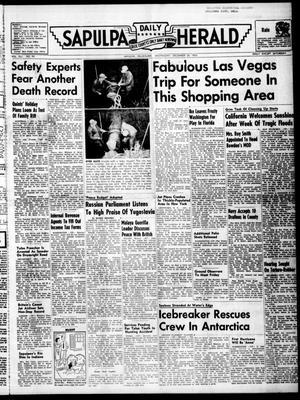 Primary view of Sapulpa Daily Herald (Sapulpa, Okla.), Vol. 41, No. 99, Ed. 1 Wednesday, December 28, 1955