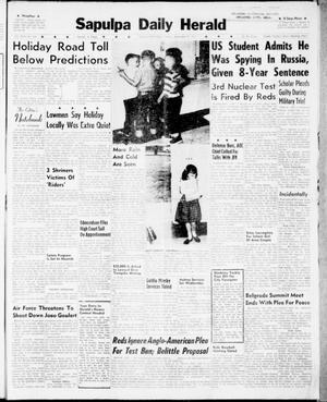 Primary view of Sapulpa Daily Herald (Sapulpa, Okla.), Vol. 46, No. 304, Ed. 1 Tuesday, September 5, 1961