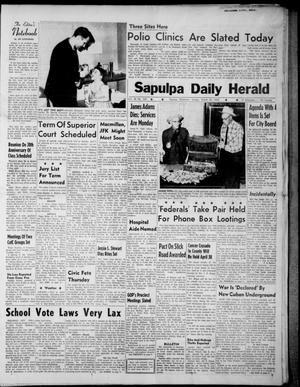Primary view of Sapulpa Daily Herald (Sapulpa, Okla.), Vol. 48, No. 163, Ed. 1 Sunday, March 24, 1963