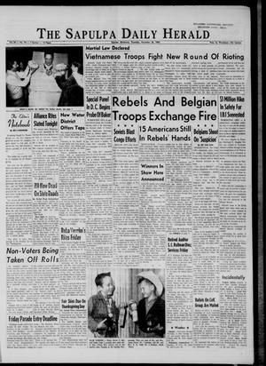 Primary view of The Sapulpa Daily Herald (Sapulpa, Okla.), Vol. 50, No. 74, Ed. 1 Wednesday, November 25, 1964