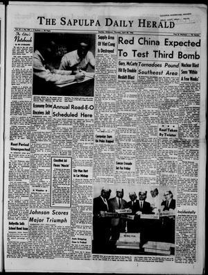 Primary view of The Sapulpa Daily Herald (Sapulpa, Okla.), Vol. 51, No. 206, Ed. 1 Thursday, April 28, 1966