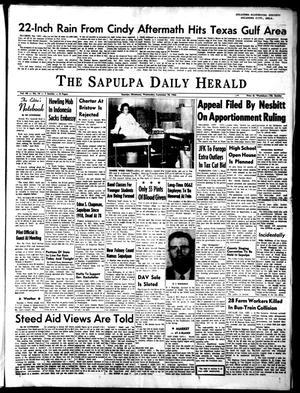Primary view of The Sapulpa Daily Herald (Sapulpa, Okla.), Vol. 49, No. 14, Ed. 1 Wednesday, September 18, 1963