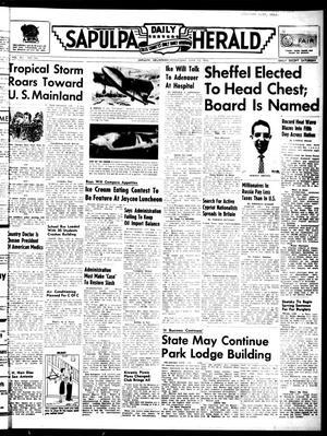Primary view of Sapulpa Daily Herald (Sapulpa, Okla.), Vol. 41, No. 241, Ed. 1 Wednesday, June 13, 1956
