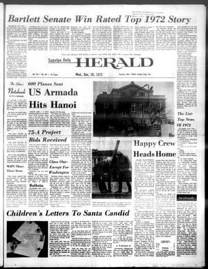 Primary view of Sapulpa Daily Herald (Sapulpa, Okla.), Vol. 59, No. 84, Ed. 1 Wednesday, December 20, 1972