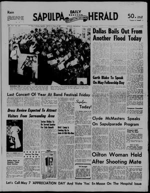 Primary view of Sapulpa Daily Herald (Sapulpa, Okla.), Vol. 42, No. 205, Ed. 1 Thursday, May 2, 1957