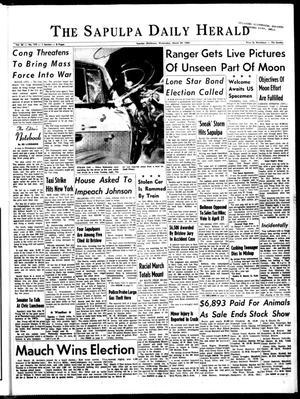 Primary view of The Sapulpa Daily Herald (Sapulpa, Okla.), Vol. 50, No. 175, Ed. 1 Wednesday, March 24, 1965