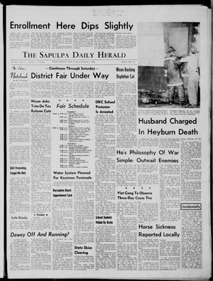 Primary view of The Sapulpa Daily Herald (Sapulpa, Okla.), Vol. 56, No. 4, Ed. 1 Thursday, September 4, 1969