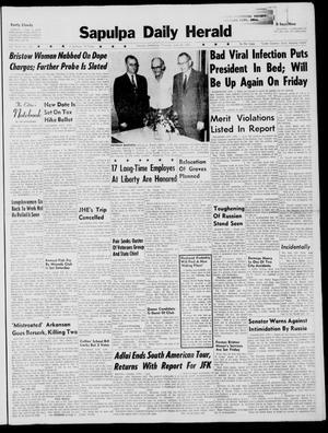 Primary view of Sapulpa Daily Herald (Sapulpa, Okla.), Vol. 46, No. 241, Ed. 1 Thursday, June 22, 1961