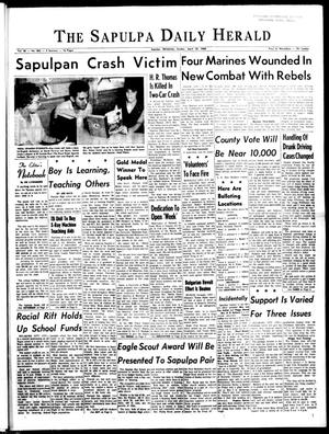 Primary view of The Sapulpa Daily Herald (Sapulpa, Okla.), Vol. 50, No. 202, Ed. 1 Sunday, April 25, 1965