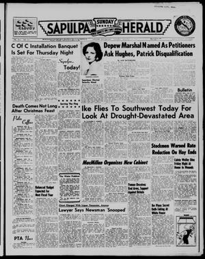 Primary view of Sapulpa Sunday Herald (Sapulpa, Okla.), Vol. 42, No. 111, Ed. 1 Sunday, January 13, 1957