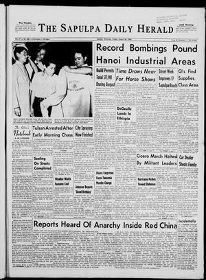 Primary view of The Sapulpa Daily Herald (Sapulpa, Okla.), Vol. 51, No. 309, Ed. 1 Sunday, August 28, 1966