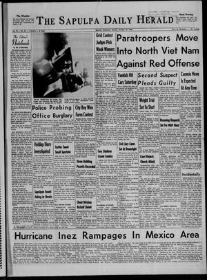 Primary view of The Sapulpa Daily Herald (Sapulpa, Okla.), Vol. 52, No. 31, Ed. 1 Monday, October 10, 1966