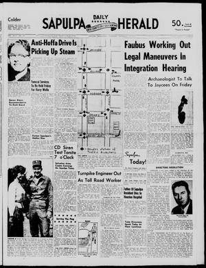 Primary view of Sapulpa Daily Herald (Sapulpa, Okla.), Vol. 43, No. 16, Ed. 1 Thursday, September 19, 1957