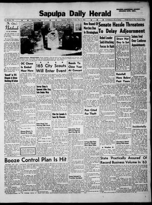 Primary view of Sapulpa Daily Herald (Sapulpa, Okla.), Vol. 48, No. 198, Ed. 1 Friday, May 3, 1963