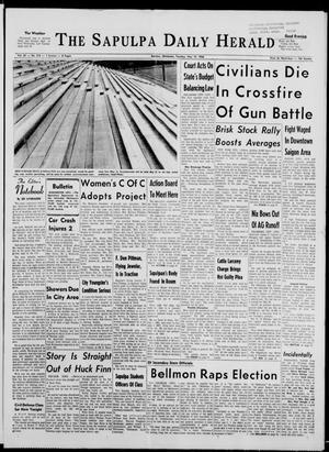 Primary view of The Sapulpa Daily Herald (Sapulpa, Okla.), Vol. 51, No. 216, Ed. 1 Tuesday, May 10, 1966