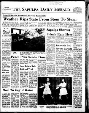 Primary view of The Sapulpa Daily Herald (Sapulpa, Okla.), Vol. 57, No. 31, Ed. 1 Thursday, October 8, 1970