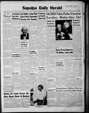 Primary view of Sapulpa Daily Herald (Sapulpa, Okla.), Vol. 48, No. 188, Ed. 1 Monday, April 22, 1963