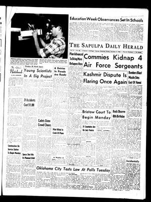 Primary view of The Sapulpa Daily Herald (Sapulpa, Okla.), Vol. 51, No. 58, Ed. 1 Sunday, November 7, 1965