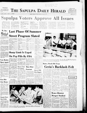 Primary view of object titled 'The Sapulpa Daily Herald (Sapulpa, Okla.), Vol. 56, No. 291, Ed. 1 Wednesday, August 5, 1970'.
