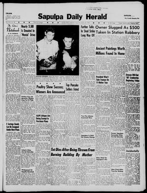Primary view of Sapulpa Daily Herald (Sapulpa, Okla.), Vol. 45, No. 69, Ed. 1 Friday, November 20, 1959