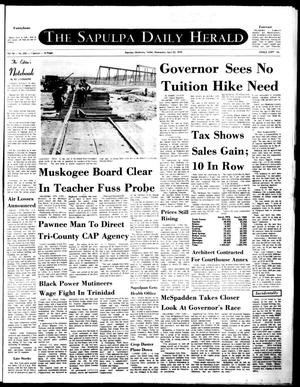 Primary view of The Sapulpa Daily Herald (Sapulpa, Okla.), Vol. 56, No. 201, Ed. 1 Wednesday, April 22, 1970