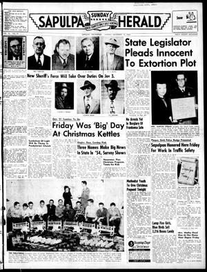 Primary view of Sapulpa Sunday Herald (Sapulpa, Okla.), Vol. 40, No. 92, Ed. 1 Sunday, December 19, 1954