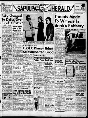Primary view of Sapulpa Sunday Herald (Sapulpa, Okla.), Vol. 41, No. 113, Ed. 1 Sunday, January 15, 1956