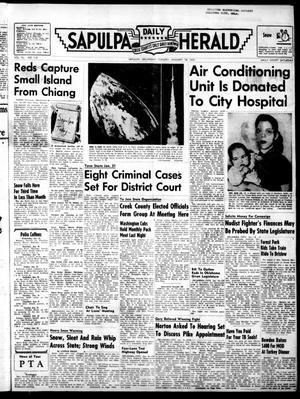 Primary view of Sapulpa Daily Herald (Sapulpa, Okla.), Vol. 40, No. 118, Ed. 1 Tuesday, January 18, 1955