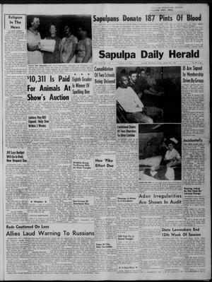 Primary view of Sapulpa Daily Herald (Sapulpa, Okla.), Vol. 46, No. 164, Ed. 1 Friday, March 24, 1961