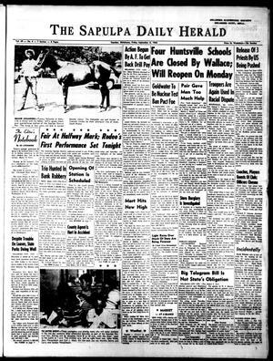 Primary view of The Sapulpa Daily Herald (Sapulpa, Okla.), Vol. 49, No. 4, Ed. 1 Friday, September 6, 1963