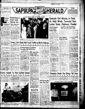 Primary view of Sapulpa Daily Herald (Sapulpa, Okla.), Vol. 35, No. 221, Ed. 1 Wednesday, May 18, 1949