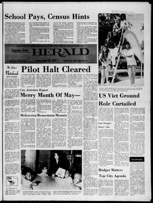 Primary view of Sapulpa Daily Herald (Sapulpa, Okla.), Vol. 58, No. 250, Ed. 1 Sunday, June 18, 1972
