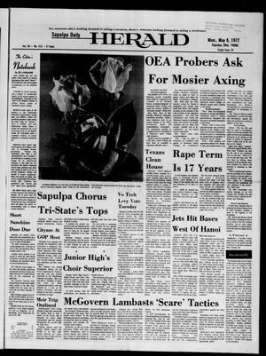 Primary view of Sapulpa Daily Herald (Sapulpa, Okla.), Vol. 58, No. 215, Ed. 1 Monday, May 8, 1972