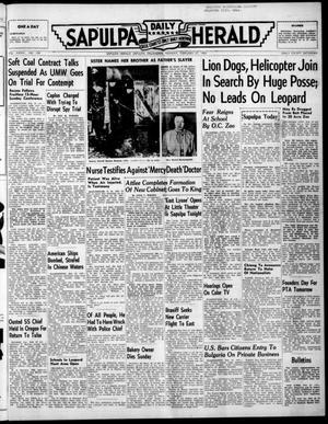 Primary view of Sapulpa Daily Herald (Sapulpa, Okla.), Vol. 36, No. 150, Ed. 1 Monday, February 27, 1950
