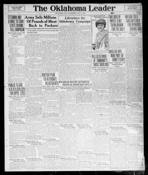 Primary view of object titled 'The Oklahoma Leader (Oklahoma City, Okla.), Vol. 6, No. 51, Ed. 1 Saturday, July 3, 1920'.