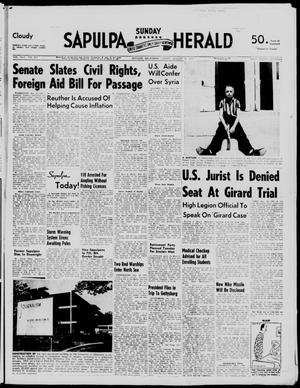 Primary view of Sapulpa Sunday Herald (Sapulpa, Okla.), Vol. 42, No. 301, Ed. 1 Sunday, August 25, 1957