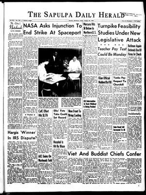 Primary view of The Sapulpa Daily Herald (Sapulpa, Okla.), Vol. 50, No. 129, Ed. 1 Friday, January 29, 1965