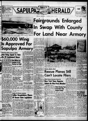 Primary view of Sapulpa Daily Herald (Sapulpa, Okla.), Vol. 40, No. 257, Ed. 1 Thursday, June 30, 1955