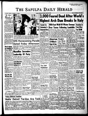 Primary view of The Sapulpa Daily Herald (Sapulpa, Okla.), Vol. 49, No. 33, Ed. 1 Thursday, October 10, 1963