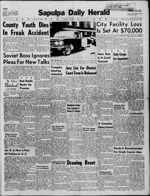 Primary view of Sapulpa Daily Herald (Sapulpa, Okla.), Vol. 45, No. 219, Ed. 1 Tuesday, May 17, 1960